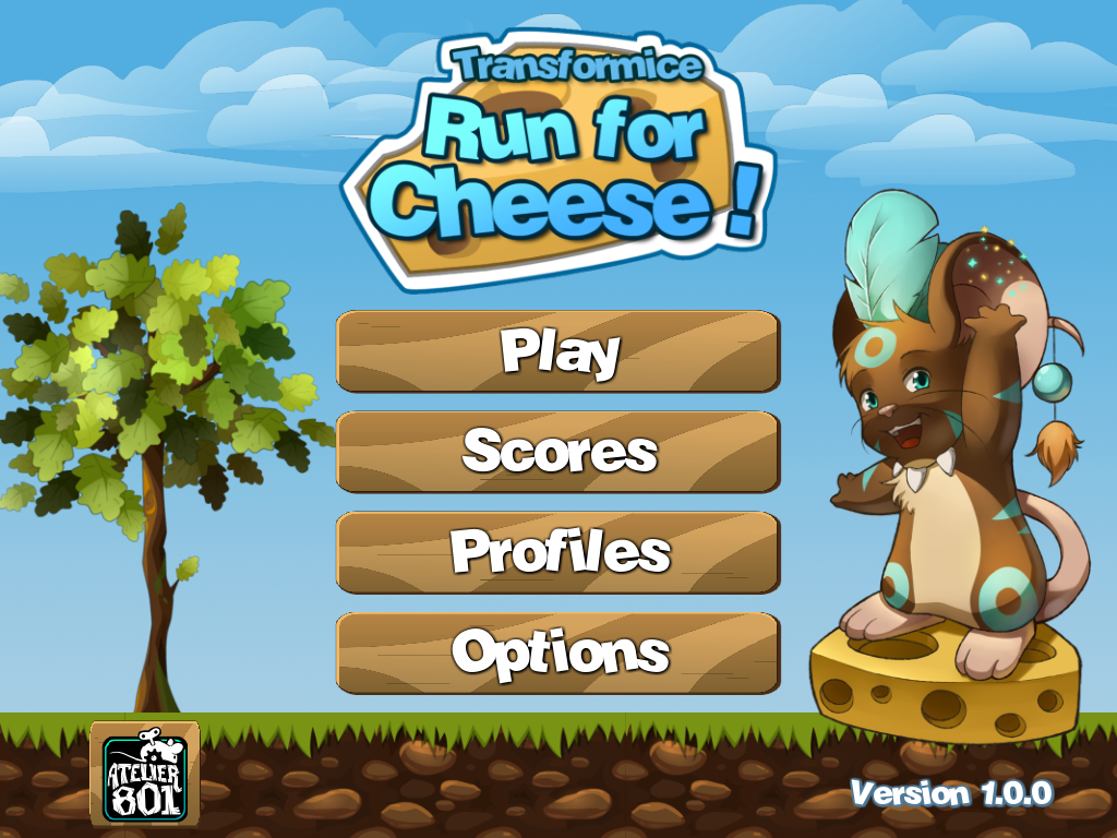 Run for Cheese - Android App