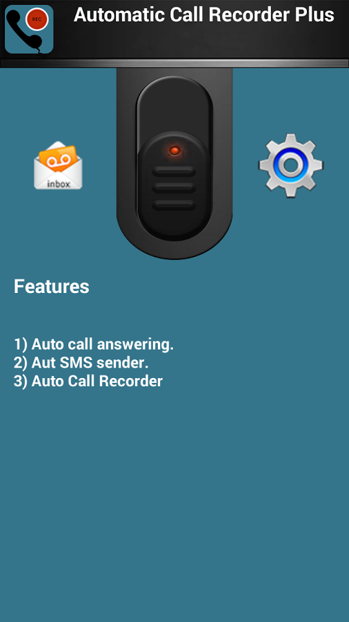 Auto Call Recorder : A perfect app for recording calls automatically ask