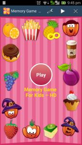 A free memory game