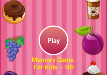 Android App - Memory Game For Kids