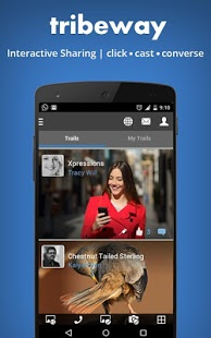 Tribeway : Interactive Sharing - Android App