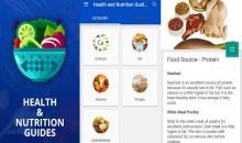 Health & Nutrition Tips App: Check Your Daily Intakes of Proteins, Carbohydrates & Fat