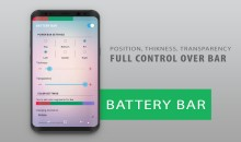 Battery Bar: Add Fantastic Effects and Colors to Your Smartphone's Battery