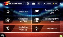 The first GPS running app with live & visual competition
