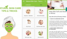 Get More Natural Skin Care Beauty Tips App And Best Homemade Remedies