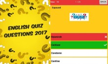 Get Our Quiz App For General English Quiz Questions-Latest Collections