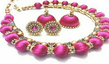 Get our Silk Thread Jewellery Designs – Latest Collections