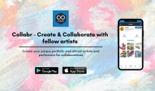Collabr App: The Home of Creatives! Welcome home!